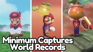 3 SUPER MARIO ODYSSEY WORLD RECORDS in 2 Days!