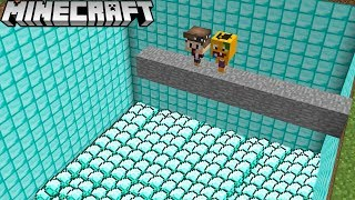 FALLE NICHT IN DEN DIAMANT SEE IN MINECRAFT!