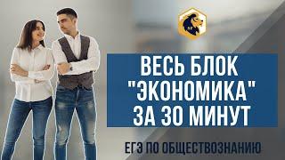 """Весь блок """"Экономика"""" за 30 минут / ЕГЭ 2020 / SATTAROVFAMILY"""