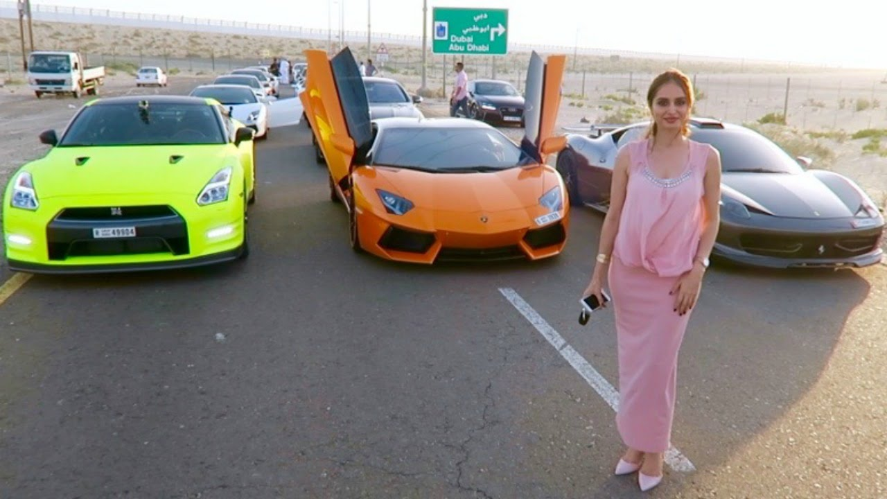 Supercar Kids Of Dubai Youtube