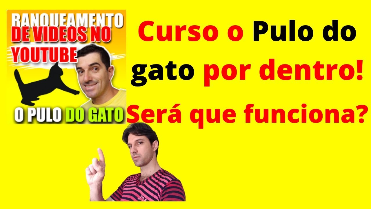 Curso o pulo do gato ! Curso Ranqueamento de vídeo no youtube o pulo do gato! Ranqueamento de vídeo