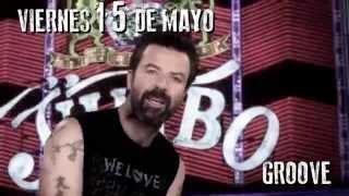 JARABE DE PALO EN ARGENTINA!  Vier. 15/05 - Groove
