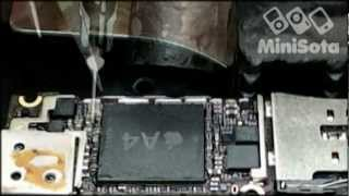 Ремонт iPhone 4 (переустановка процессора A4)(Ремонт iPhone 4, Переустановка процессора A4