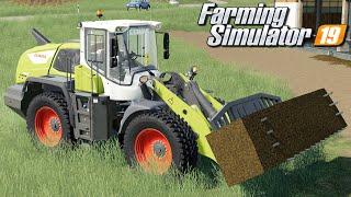 Załadunek i sprzedaż kiszonki - Farming Simulator 19 | #105