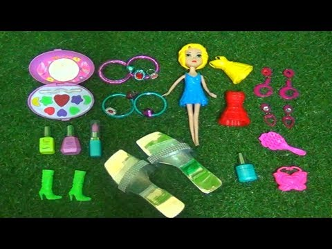 Mini Girl Beauty Toys With Makeup ,shoes And Dress