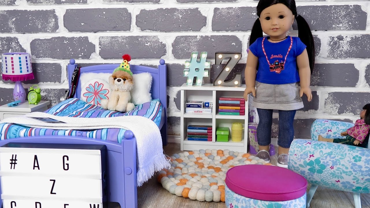 american girl doll z bedroom youtube 14010 | maxresdefault