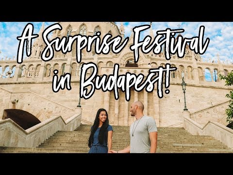 A Surprise Festival in Budapest! // Country #23 & 24 Slovakia & Hungary