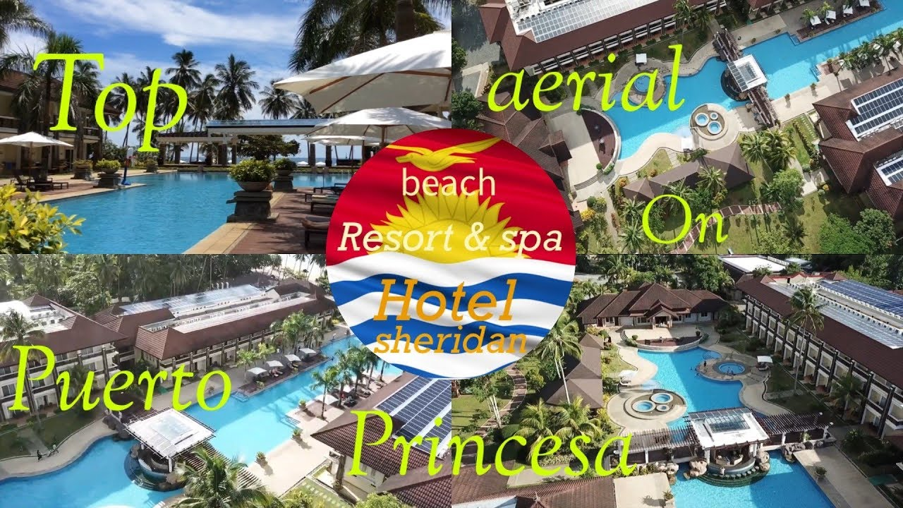 Top Aerial On Sheridan Beach Resort Puerto Princesa Palawan