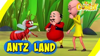 Motu Patlu- EP27B | Antz Land | Funny Videos For Kids | Wow Kidz Comedy