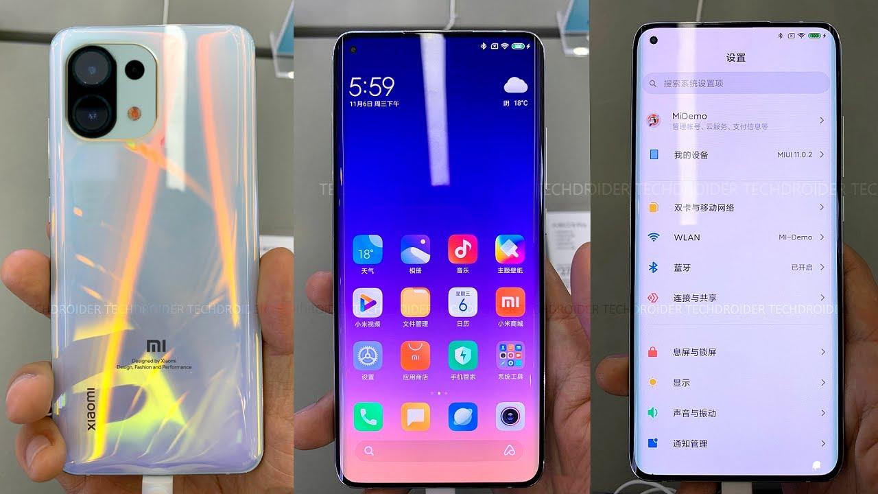 Xiaomi Mi 11 - FIRST LOOK - YouTube