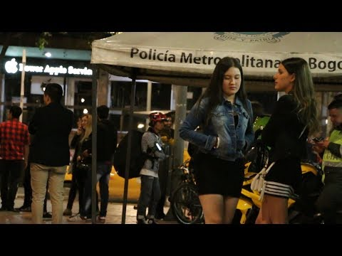 NIGHTLIFE IN BOGOTA, COLOMBIA Travel Guide !!!( low average night)