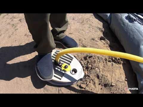 Ножные лодочные насосы: Bravo-9, Borika-7.5, N-5