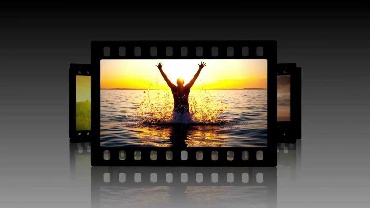 Создание видео открытки с фото