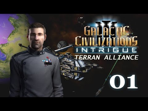 Galactic Civilizations III: Intrigue - Let's Play // Terran Alliance - Episode #1 [Aggressive]