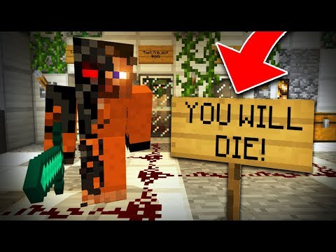 How to TALK to a CURSE in Minecraft! (SCARY Survival EP5)