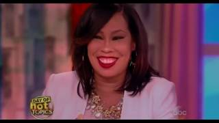 NEWW!!  On The View August 24 2016 : Whoopi Goldberg's Daughter Gives Her Very Special Mother's Day
