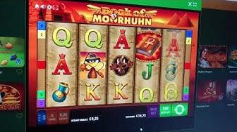 Book of Moorhuhn im Onlinecasino.eu 0,25 € Einsatz
