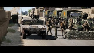 ArmA 3 Zombies Military Checkpoint - Afghan National Army