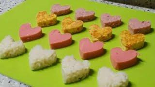 (찐주부)?하트김밥쉽게만드는법?예쁜김밥?하트김밥/김밥예…