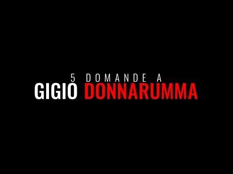 5 Questions to Gigio Donnarumma