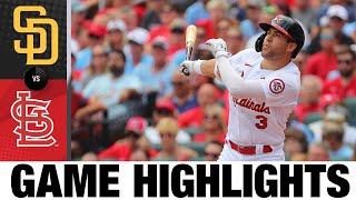 Padres vs. Cardinals Game Highlights (9/19/21)   MLB Highlights