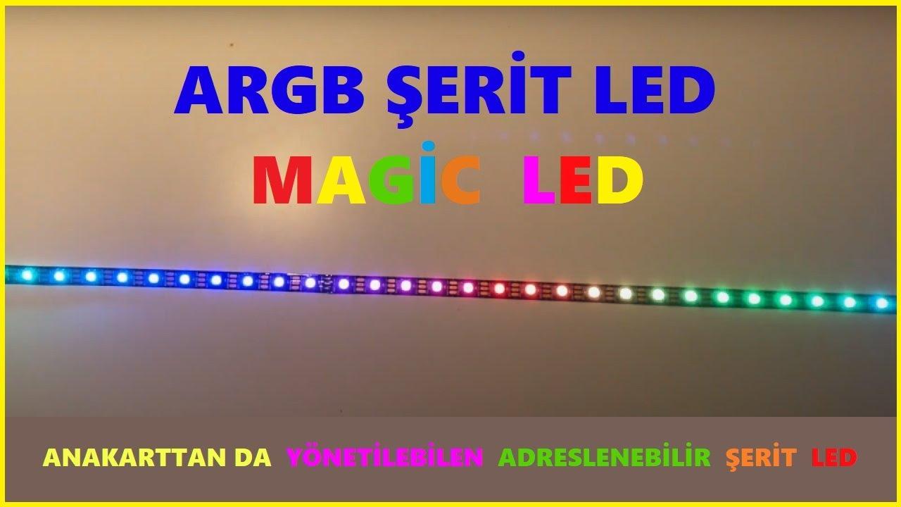 Download ARGB - Magic Led - Adreslenebilir Şerit Ledi inceliyoruz
