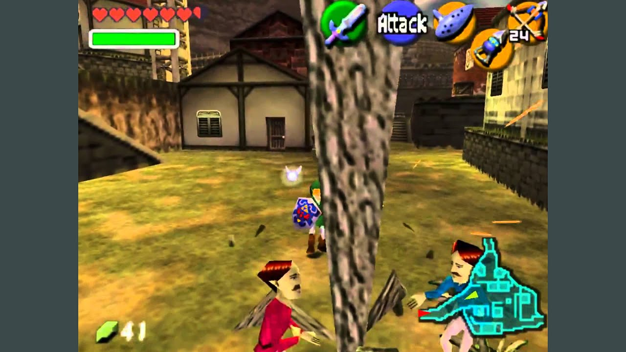 Ocarina of Time - N64 vs  3DS, and the Feeling of Movement
