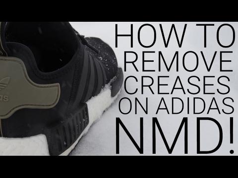 ADIDAS NMD PITCH BLACK SCUFF FIX