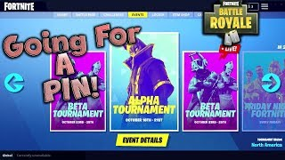 In-Game Tournaments LIVE! PC With Controller! Let's Get a PIN! /Fortnite Battle Royale Tournament
