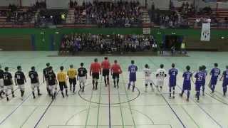 Hamburg Panthers - UFC Münster (Viertelfinale, DFB-Futsal-Cup 2015) - Spielszenen | ELBKICK.TV