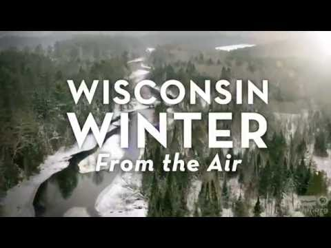 First Look - Wisconsin Winter From the Air
