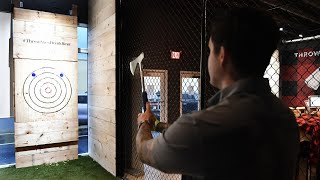 Axe-throwing bar Chops + Hops opens in Fort Lauderdale