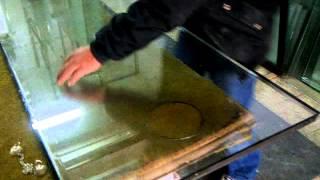 Ege Cam Aletleri - Isı cam delme pergeli ( Sürme cam delme )