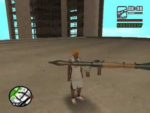 Gta San Andreas Where To Find Rpg Youtube