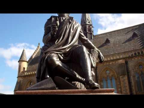 Robert Burns Statue Dundee Scotland