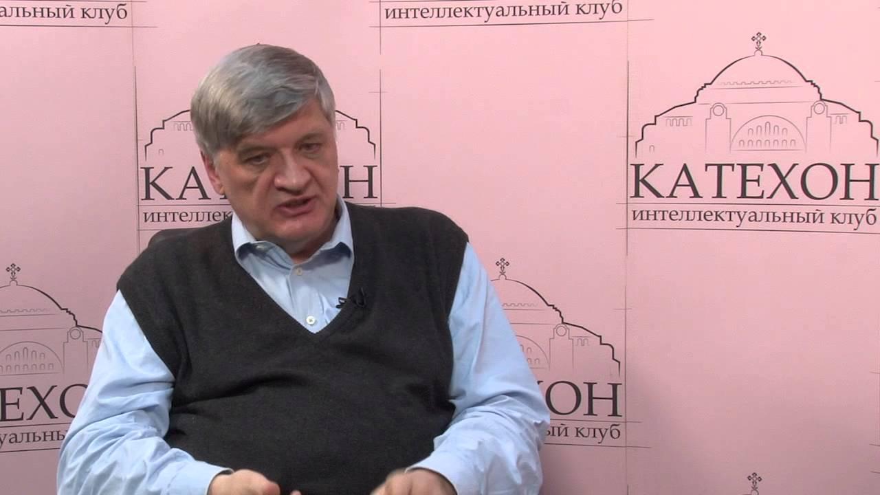 """Катехон-ТВ: """"Глобализация и будущее"""" - выступает Александр Неклесса"""