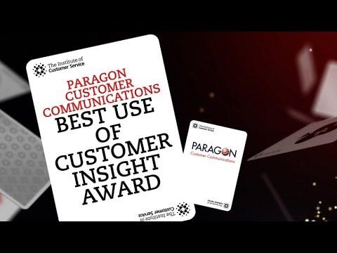 Virgin Money - Winner of Paragon Customer Communications Best Use of Customer Insight Award
