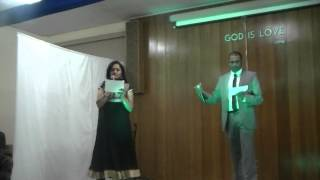 Kannum Kannum Thammil Thammil Song at 2013 Church Family Night, Massapequa, NY, USA