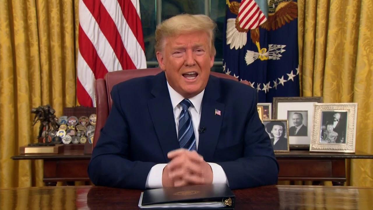FULL SPEECH: President Trump address the nation on coronavirus (9 minutes)