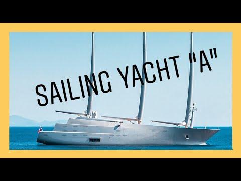 Mega Sailing Yacht A visit Ibiza & Formentera