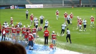 American Football - Europameisterschaft - Österreich vs Frankreich - 04.06.2014