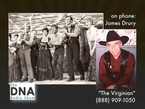 (Part 1 of 12) The Virginian - James Drury interview with Vince Daniels