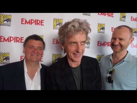 Doctor Who   with Peter Capaldi, Steven Moffat & Mark Gatiss at ComicCon