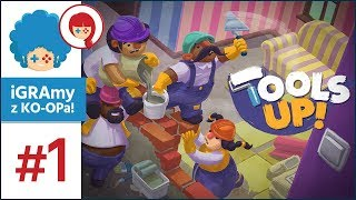 Tools Up! PL #1 w/ Szynka | Overcooked x House Flipper!