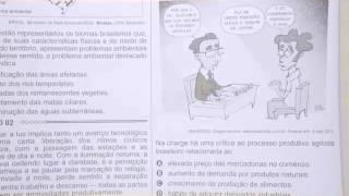 CHROMOS GABARITO ENEM 2015 - Nathália - Geografia - Questão 04 - Prova Azul
