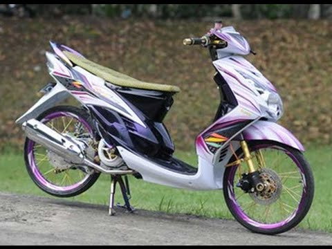 Modifikasi Motor Mio J Modifikasi Motor Kawasaki Honda Yamaha