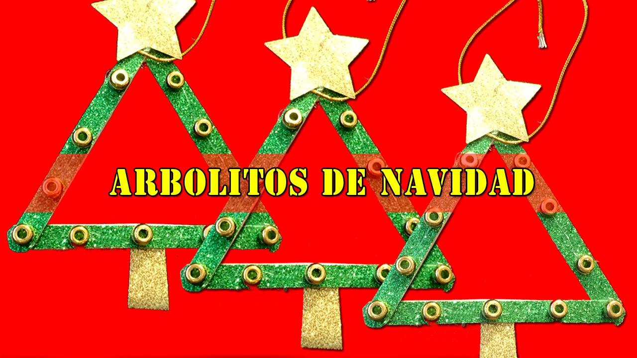 Rbol de navidad de madera para colgar manualidades - Arboles de navidad manualidades navidenas ...