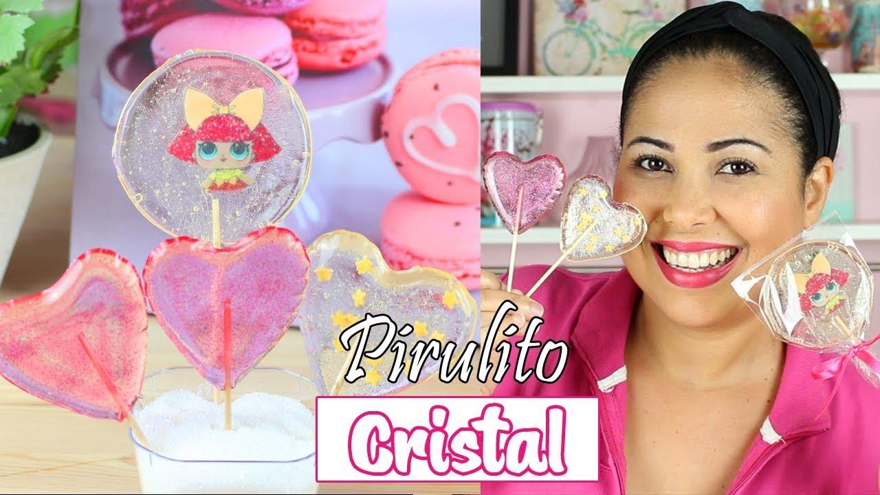 Download Pirulito de Cristal Sem Isomalte ( Mega Dicas)   Cakepedia