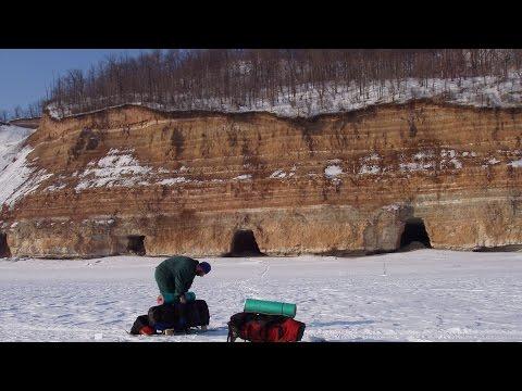 Татарстан. Долгополянский гипсовый рудник (Gypsum Mine Near Dolgaya Polyana)