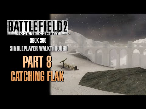 Battlefield 2: Modern Combat Walkthrough (Xbox 360) - Part 8 - Catching Flak